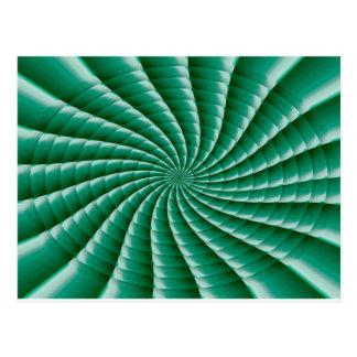 Grüne Rad Chakra SCHABLONE addieren TEXTIMG Postkarten