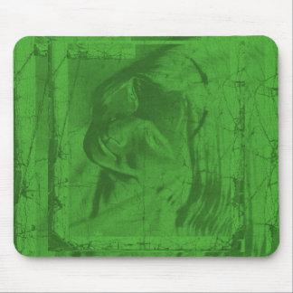 Grüne Reflexionen I Mousepad