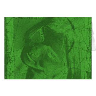 Grüne Reflexionen Karte