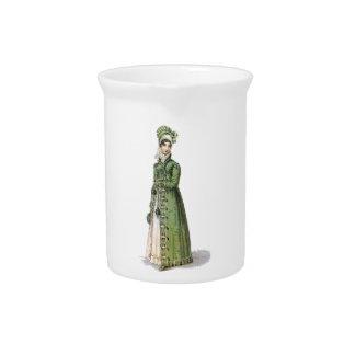 Grüne Regentschafts-Dame Krug
