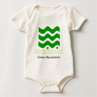 Grüne Revolution - beginnen Sie sie mit Kindern Baby Strampler