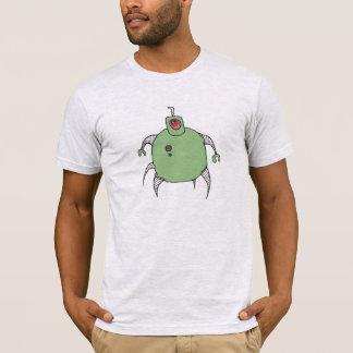Grüne Roboter-Zyklop-Spinne T-Shirt
