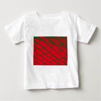 grüne rote Kopfsteine aufgehoben Baby T-shirt