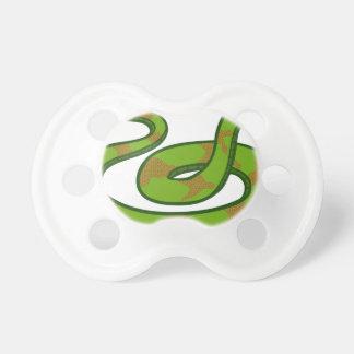 Grüne Schlange Schnuller