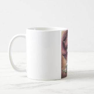 Grüne Schlange Venus Kaffeetasse