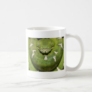 Grüne Schlangen-Produkt Kaffeetasse