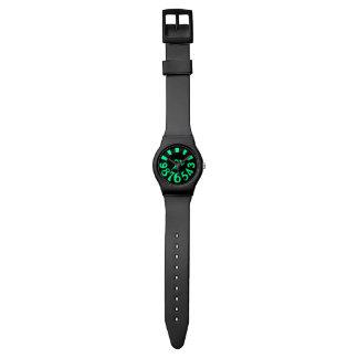grüne schwarze Uhr des Zeitgenossen may28th