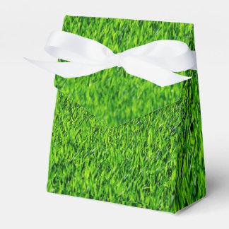 Grüne Sommer-Gras-Beschaffenheit Geschenkschachtel