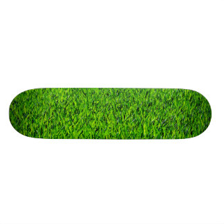 Grüne Sommer-Gras-Beschaffenheit Skateboard Brett