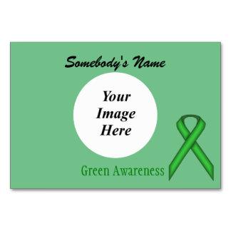 Grüne Standardband-Schablone durch Kenneth Yoncich Karte