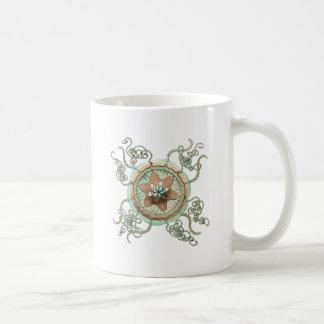 Grüne Starfish Kaffeetasse