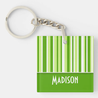 Grüne Streifen; Niedlich Schlüsselanhänger