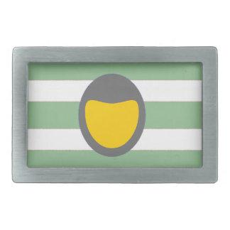 grüne Streifen Rechteckige Gürtelschnallen