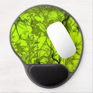grüne Strudel flovers vektorkunst Gel Mousepad