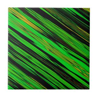 Grüne Süßigkeits-Streifen-Fliese