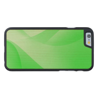 Grüne Tapete Carved® iPhone 6 Hülle Ahorn
