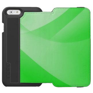 Grüne Tapete Incipio Watson™ iPhone 6 Geldbörsen Hülle