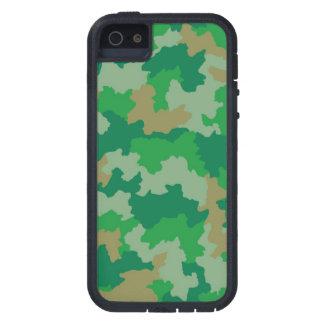 Grüne Tarnung iPhone 5/5S Abdeckung iPhone 5 Etui