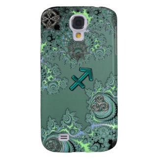 Grüne Tierkreis-Zeichen-Schützeceltic-Symbole Galaxy S4 Hülle