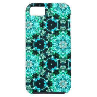 Grüne Tilly-Spitze Tough iPhone 5 Hülle