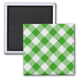 grüne Tischdecke Quadratischer Magnet