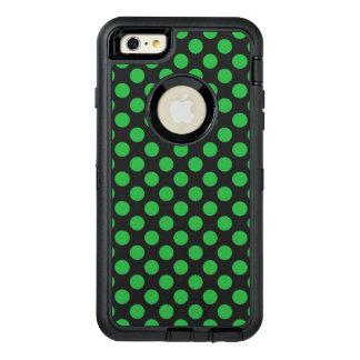 Grüne Tupfen OtterBox iPhone 6/6s Plus Hülle