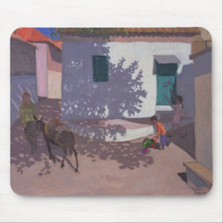 Grüne Tür und Schatten Lesbos 1996 Mousepad
