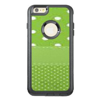 Grüne u. weiße Tupfen OtterBox iPhone 6/6s Plus Hülle