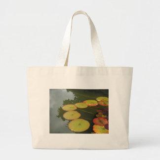 Grüne und rote Lilly Auflagen Einkaufstasche