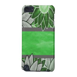 Grüne und weiße Blumen iPod Touch 5G Hülle