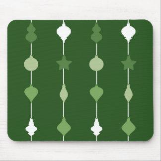Grüne Verzierungen Mousepad