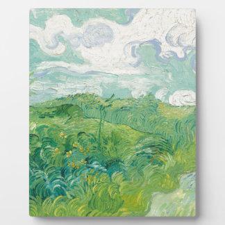 grüne Weizen-Felder Van Gogh Fotoplatte
