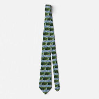 Grüne Weizen-Felder Van Gogh, Vintage feine Kunst Individuelle Krawatte