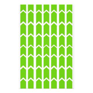 Grüne Zaun-Platte Briefpapier