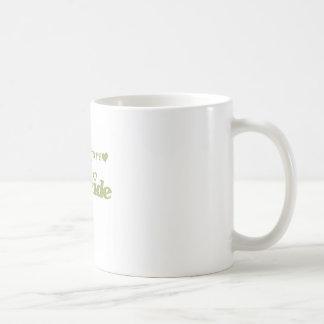 Grüne zukünftige Braut Teetasse