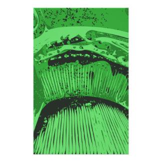 Grüne Zusammenfassung Flyers