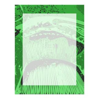 Grüne Zusammenfassung Personalisierte Flyer
