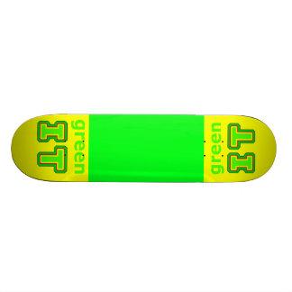 grünen Sie ES das MUSEUM gibsphotoart Skateboarddeck