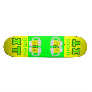 grünen Sie ES die MUSEUM gibsphotoart Bier-Gläser Skateboarddecks