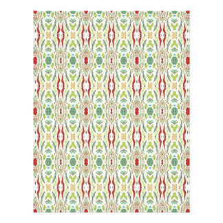 Grüner abstrakter Natur-Form-Entwurf Flyerbedruckung