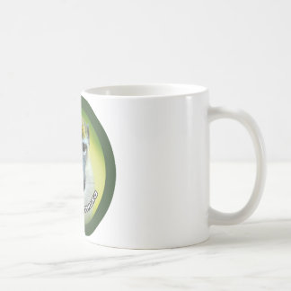 Grüner Affe Kaffeetasse