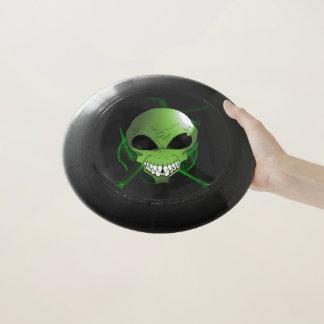Grüner alien Frisbee
