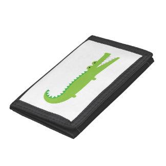 Grüner Alligator