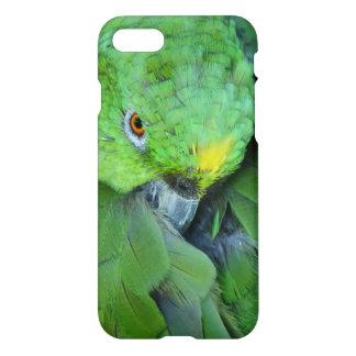 Grüner Amazonas-Papagei iPhone 8/7 Hülle