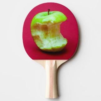 Grüner Apfel nagte ab Tischtennis Schläger