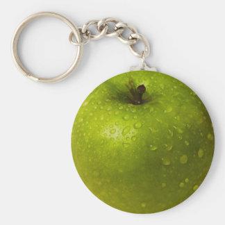 Grüner Apfel Schlüsselanhänger