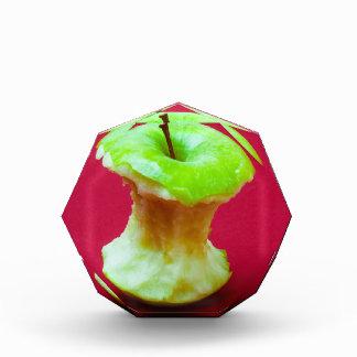 Grüner Apfelkern Acryl Auszeichnung