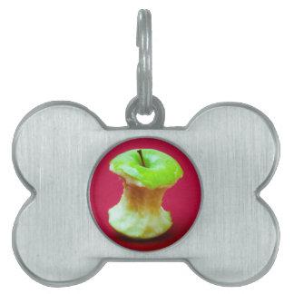 Grüner Apfelkern Tiermarke