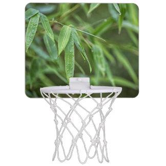 Grüner Bambus Mini Basketball Netz