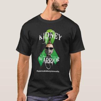 Grüner Band-Nieren-Krieger - dunkle Shirts